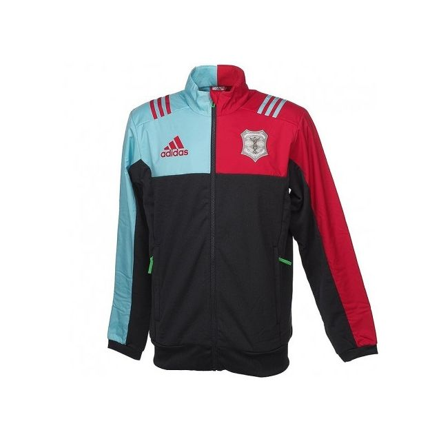 338c7ed1c1 Adidas originals - Veste Polaire Harlequins Rugby Gris Homme Adidas ...