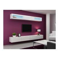 meuble tv suspendu achat meuble tv suspendu pas cher rue du commerce. Black Bedroom Furniture Sets. Home Design Ideas