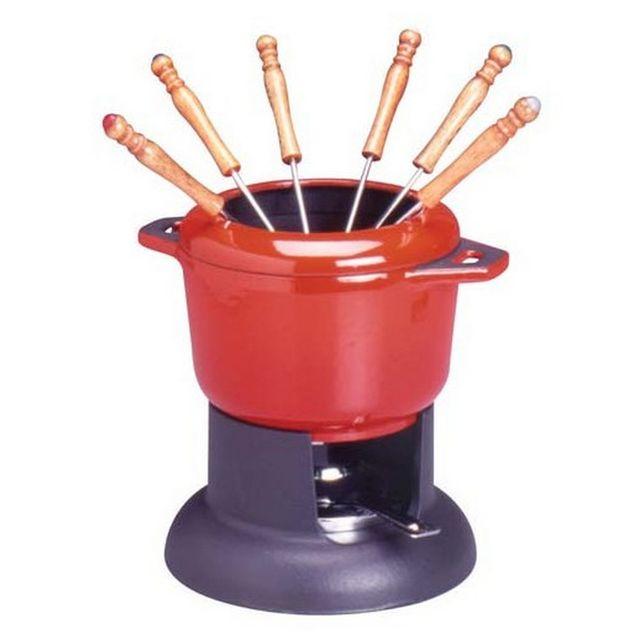 INVICTA service à fondue standart rouge rubis - 1003034