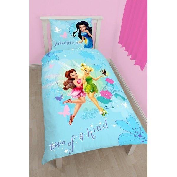 fairies parure de lit f e clochette disney pas cher achat vente parures de lits. Black Bedroom Furniture Sets. Home Design Ideas