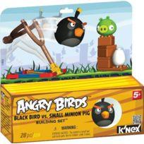 Angry Birds - T72603 - Jeu De Construction - Black Bird Vs Small Minion Pig