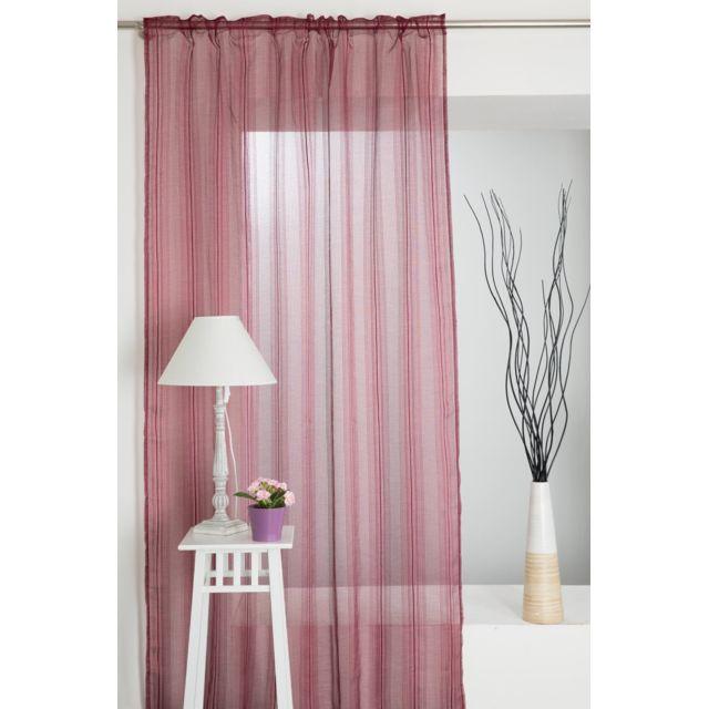 rideaudiscount rideau voilage effet maille ajour e 140 x. Black Bedroom Furniture Sets. Home Design Ideas