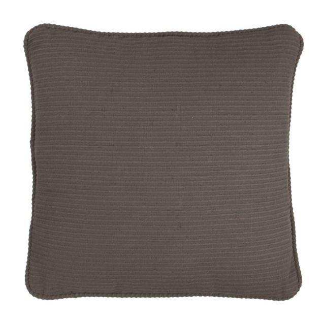 mon beau tapis coussin urban 38x38 gris 38cm x 38cm pas cher achat vente coussins. Black Bedroom Furniture Sets. Home Design Ideas