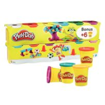 Playdoh - pâte à jouer extra souple - classpack de 12 pots 113 grammes play-doh dont 6 gratuits