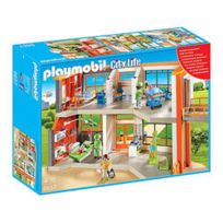 PLAYMOBIL - 6657-Hôpital pédiatrique aménagé - City