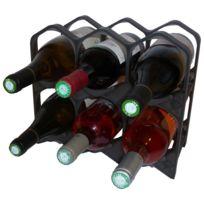 DrinkCase - Casiers 6 bouteilles - Noir Lumineux