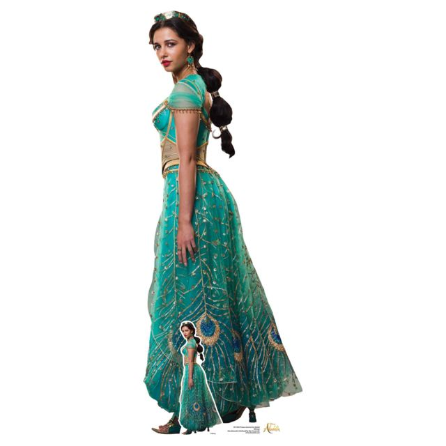 Bebe Gavroche Figurine en carton taille réelle Princess Jasmine Aladdin Disney H 168 Cm