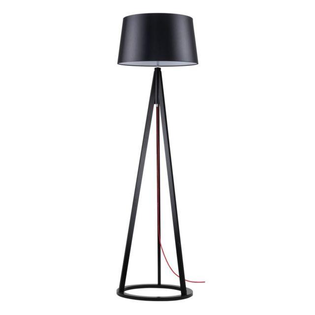 paris prix lampadaire tr pied bois konan vi 173cm noir. Black Bedroom Furniture Sets. Home Design Ideas