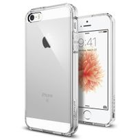 Cabling - Coque iPhone 5/5s/SE 4 pouces Etui Ultra Mince Housse Silicone Transparent pour iPhone 5/5s/SE Coque de Protection en Tpu avec Absorption de Choc Bumper et Anti-Scratch iPhone 5/5s/SE 4