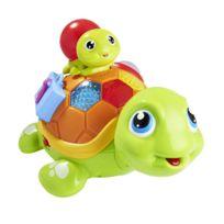 CARREFOUR BABY - Tortue interactive sonore et lumineuse et son bébé