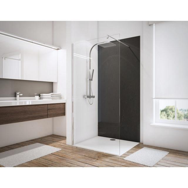 schulte panneau mural de douche 100x210 cm panneau de rev tement pour salle de bains. Black Bedroom Furniture Sets. Home Design Ideas