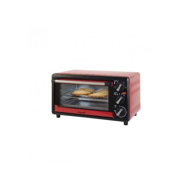Korona K57003 - Four à toast Noir / Rouge