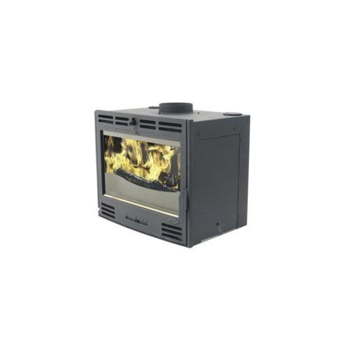 godin insert bois charbon noire pas cher achat vente po les bois rueducommerce. Black Bedroom Furniture Sets. Home Design Ideas