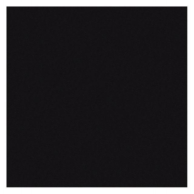 TECHNEB Plateau de table LEA carré en bois stratifié grand modèle 70cmX70cmX2cm, noir