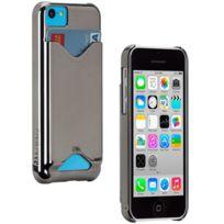 Case Mate - Coque Case-mate Barely Id Case chrome iPhone 5C