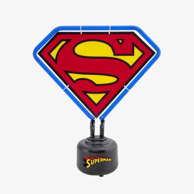 Kas Design Lampe Néon Superman Logo