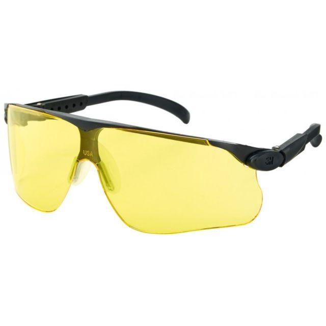 ac7dd4443b6634 3M - Lunette de protection Maxim Dx UV,PC, jaune,cadre noir - pas ...