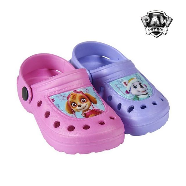 68a6b2067 Sandales de bain de Plage en caoutchouc La Pat' Patrouille - Chaussure  enfant Couleur - Bleu, Taille des chaussures - 23