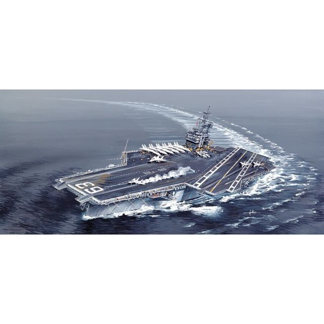 italeri - maquette bateau   porte-avions uss kitty hawk cv-63   vente bateaux
