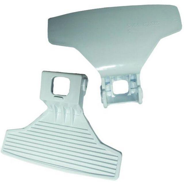 Beko poignée de porte BEKO 2828780100 blanc pour machine à laver