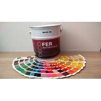 Icopeint - Peinture Glycéro Satin - Deco Fer - Violet pourpre - Ral 4007 - 2,5L