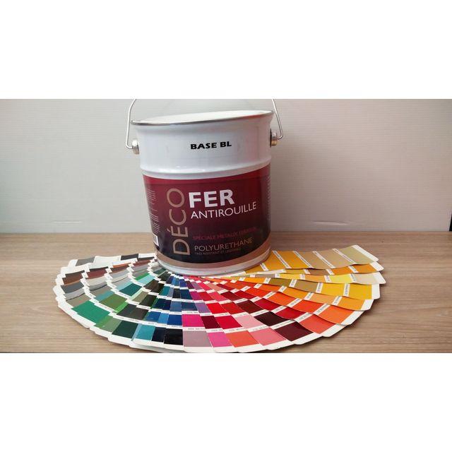 Icopeint peinture glycéro satin deco fer turquoise menthe ral 6033 25l