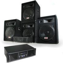 "ELECTRONIC STAR - Set Complet DJ PA ""Miami Quasar Pro"" 2 amplis + 4 enceintes Electronic-Star"