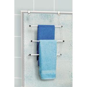 Galedo porte serviette suspendre astuce blanc pas cher achat vente porte serviettes - Porte serviette a suspendre ...