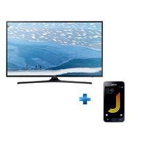 TV LED UE-55KU6000 + Smartphone GALAXY-J1-2016