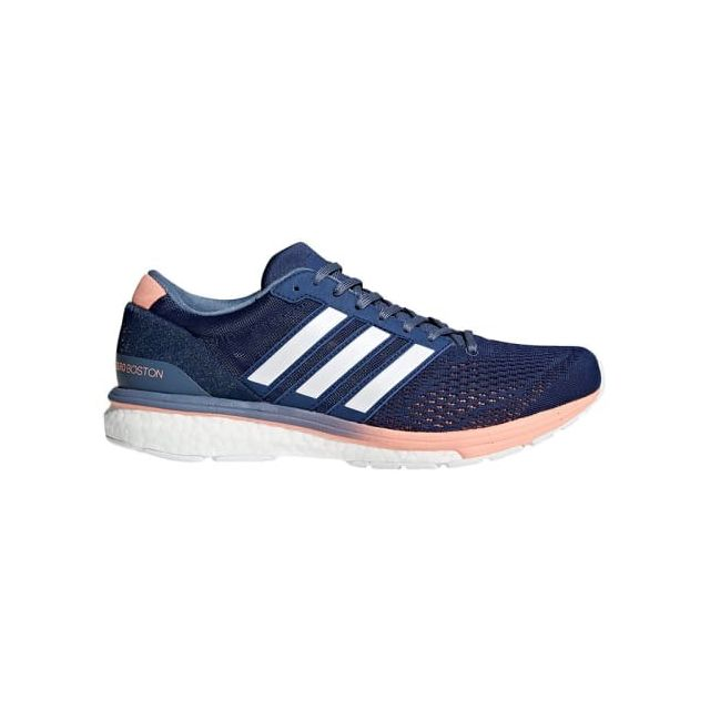 Chaussures Adizero Boston 6 bleu foncé rose femme