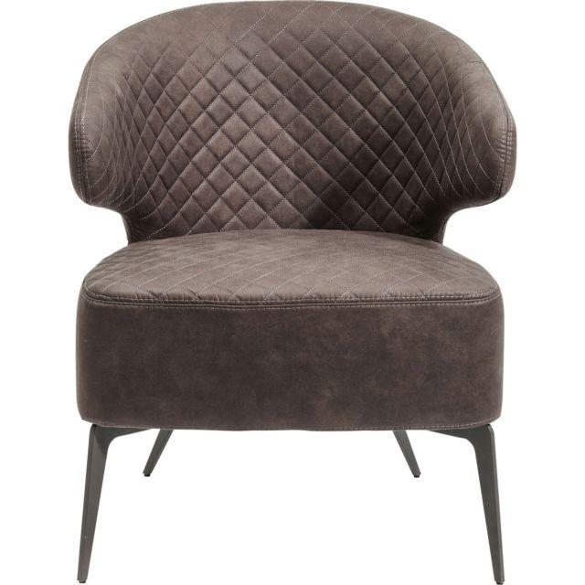 Karedesign Fauteuil Amsterdam gris Kare Design
