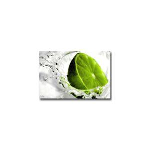 boniday tableau plexiglass cuisine citron vert 55 x 80. Black Bedroom Furniture Sets. Home Design Ideas