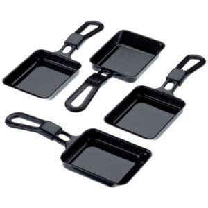 Steba - Rc3 Plus 4 Poêlons pour Appareil à Raclette