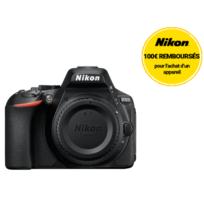 NIKON - appareil photo reflex - d5600 nu