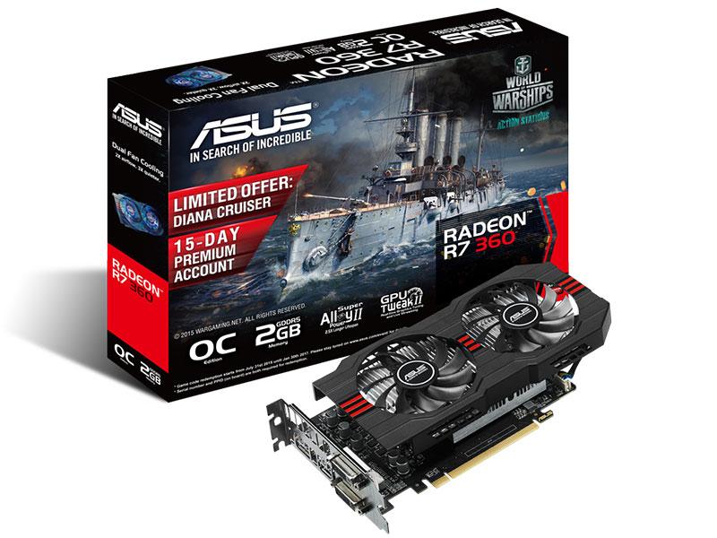 Radeon R7 360 OC 2GD5