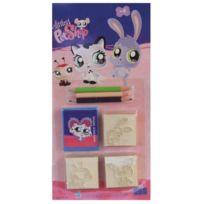 Multiprint - Set De 3 Tampons A Imprimer Littlest Petshop - 3845A Dessin
