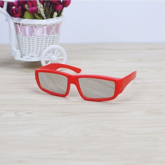 Wewoo - Lunettes rouge Abs Frame Solar Eclipse Lunettes Protection des yeux  Safe Viewer solaire 96b5504fb149