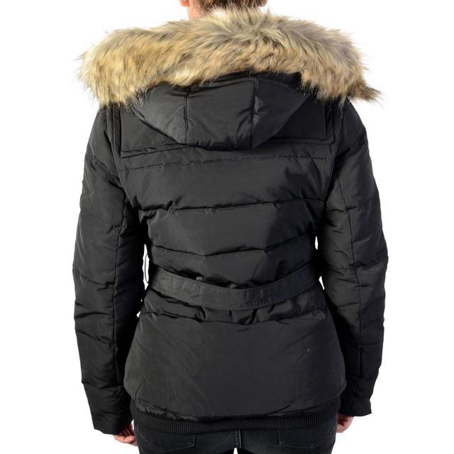 Pepe Jeans - Doudoune Claris Pl401256 Black 999 Noir