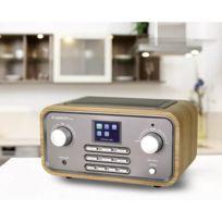 Albrecht - Radio de bureau Dr 316 C audio, stéréo jack 3.5 mm, bois