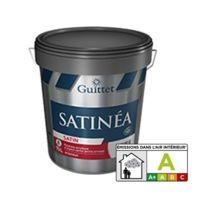 Guittet - Peinture acrylique satiné poché arrondi Satinea 15L - 2365