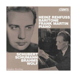 Claves - Lieder coll. legendary recital