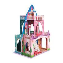 AMANTINE - Château de princesse double face pour poupée - TY022338