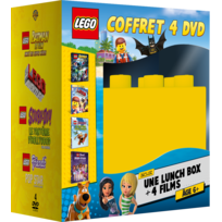 WARNER BROS - coffret lego + lunch box brique lego