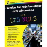 First Interactive - premiers pas en informatique ; édition windows 8.1 update 1 pour les nuls
