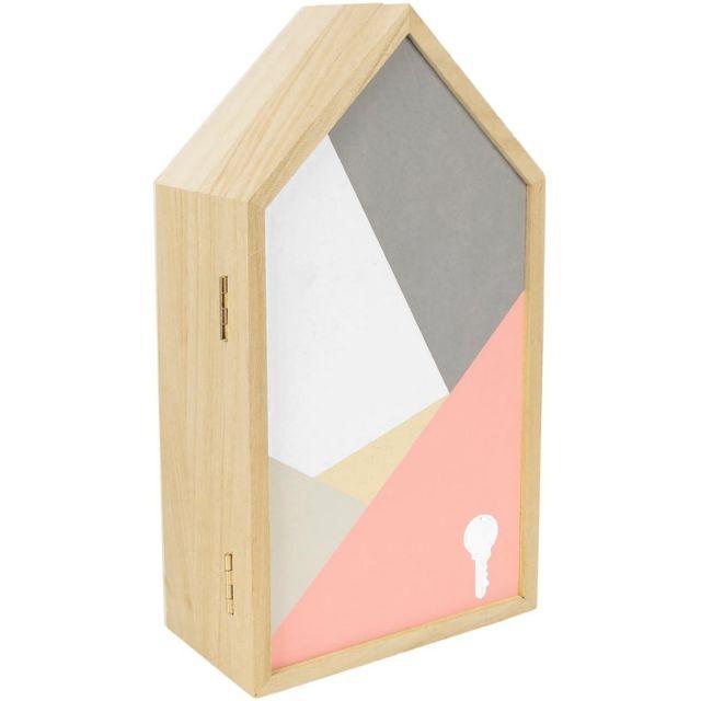 promobo boite a cl s murale design scandinave imprim. Black Bedroom Furniture Sets. Home Design Ideas