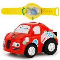 Mini Enfants Télécommandée Cartoon Télécommande Détection Voiture Rouge Cadeau Jouet Radiocommandée Power Montre lKu1FJ3cT