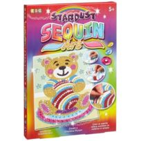 Ksg - Rainbow Stardust Sequin Art Teddy