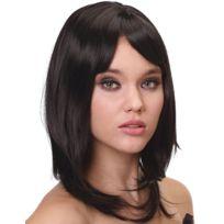 Perruque luxe noire mi-longue femme - 170g - taille - Taille Unique - 230723 14a2b7a515a