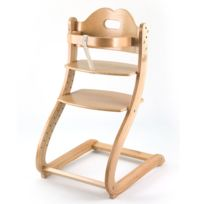First Baby Safety - Chaise haute Caya - naturel
