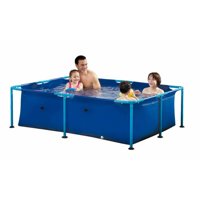 carrefour kit piscine rectangulaire fidji l153 x l2
